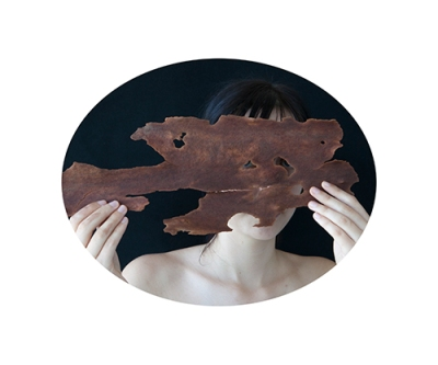 Untitled (Helena with spotted gum) 1