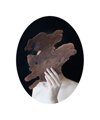 Untitled (Helena with spotted gum) 2